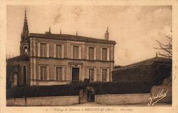 D33  ORDONNAC  Village De Potensac à Ordonnac   ........ Carte Peu Courante - Lesparre Medoc