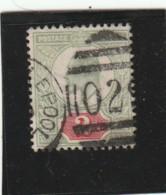 **** ANGLETERRE *** England ***  -  - Roi Edouard VII -- N° 109 Côte 23€ - Used Stamps