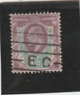 **** ANGLETERRE *** England ***  -  - Roi Edouard VII -- N° 108 Côte 20€ - 1902-1951 (Kings)