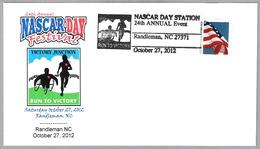RUN TO VICTORY - WHEELCHAIR. Nascar Day Festival. Randleman NC 2012 - Handicap