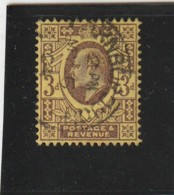 **** ANGLETERRE *** England ***  -  - Roi Edouard VII -- N° 127 Côte 12.50€ - Used Stamps
