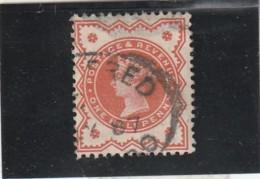 **** ANGLETERRE *** England ***  - Jubilé One Schilling Vert N°91 Côte 1.50€ - 1840-1901 (Victoria)