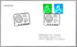 Matasellos 5º Aniversario Sociedad Filatelica-Numismatica. Alcanar Tarragona, 1992 - 1931-Hoy: 2ª República - ... Juan Carlos I