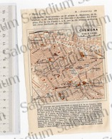CREMONA  - Mappa Cartina - Mappe