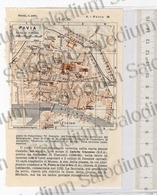 PAVIA  - Mappa Cartina - Mappe