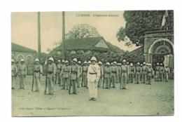 """CAYENNE: L'Infanterie Coloniale   édit; Magasin """"la Cinscience"""" - Cayenne"""