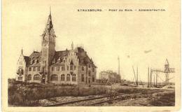 Strasbourg - Port Du Rhin - Administration - Strasbourg
