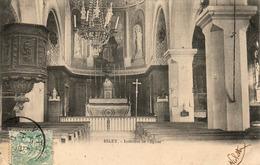 D88  ESLEY  Intérieur De L'Église - Darney