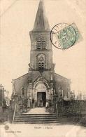 D88  ESLEY   L'Église - Darney