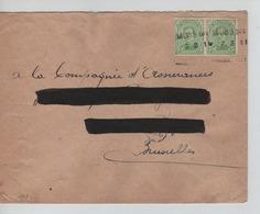 PR6907/ TP 137 (2) C.Fortune Griffe Musson 7/3/19 Adresse Barrée > BXL - Fortune Cancels (1919)