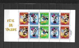 BC3641a   OBL  Y & T  Fête Du Timbre Mickey Donald Minnie « Disney »  27/53 - France