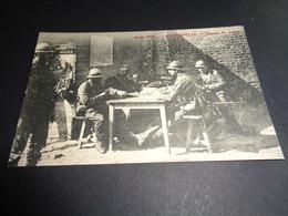 Belgique  België  ( 334 )   Avecapelle ( Veurne  Furnes )   Partie De Carte  Jouer à Cartes      -  Guerre  Oorlog - Veurne