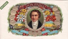 Sigarenkist Etiketten - Flor  DON Pablo Fina Natural - Labels