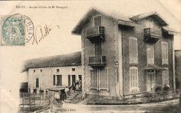 D88  ESLEY   Ancien Chalet De Mr Bourgaut......  Carte Peu Courante - Darney