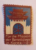 Vignetten, Für Die Mission Der Benedictiner In Korea ,1910  ♥  (70529) - Advertising