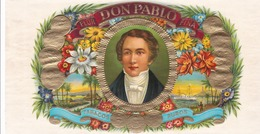 Sigarenkist Etiketten - Flor  DON Pablo Fina Tabacos PUROS - Labels