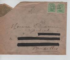 PR6908/ TP 137 (2) C.Griffe Fortune St.Joris Winghe(Winge)-Winghe St.Georges Adresse Barrée > BXL C.d'arrivée - Fortune Cancels (1919)
