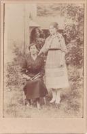 2 Grandes Photos NANTEUIL LE HAUDOUIN (OISE) En 1915 - Militariat Le Frère De La Dame A été Tué à Bouillancy à La Guerre - Guerre, Militaire