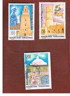 TUNISIA - SG 876.878  -    1976  CULTURAL HERITAGE   - USED ° - Tunisia (1956-...)