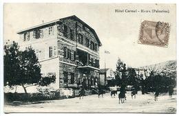 CPA PALESTINE * HAÏFA  Hôtel Carmel - Palestine