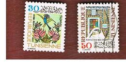 TUNISIA - SG 887.889  -    1977  CULTURAL PATRIMONY   - USED ° - Tunisia (1956-...)