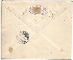 POLONIA OCUPACION ALEMANA 1916 CC CERTIFICADA URGENTE WARCHAU DRESDEN - 1919-1939 República
