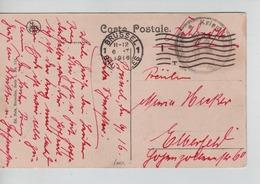 PR6910/ CP BXL Cinquantenaire PDG - POW Brüssel Feldpost C.méc.Brüssel 1916 > Ebberfeld - WW I