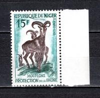 NIGER N° 101  NEUF SANS CHARNIERE COTE 0.70€    ANIMAUX - Niger (1960-...)