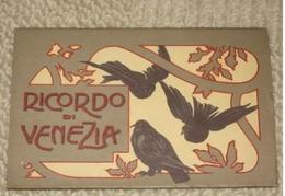 VENEZIA - 10 CARTOLINE ARTISTICHE  INIZIO '900 - PICCIONI (3688) - Venezia (Venice)