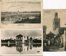 MARRAKECH  - LOT De 7  CARTES POSTALES  - - Marrakech