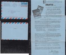 USA 1959 Advertising Achitecture Aerogramme Air Letter Stationery NEW YORK To HAMBURG Germany - Etats-Unis