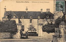 SAINTE MERE EGLISE - Habitation Du Docteur Malençon - Sainte Mère Eglise