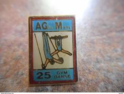 A005 -- Pin's AG Le Mans Gymastique - Gymnastique