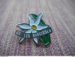 A006 -- Pin's GV Les Narcisses -- Exclusif Sur Delcampe - Gimnasia
