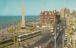 Tram/Strassenbahn Blackpool,Metropole Hotel, Gelaufen - Tramways