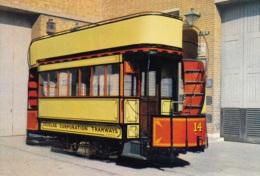 Tram/Strassenbahn Isle Of Man,Douglas,Horse Tramcar, Ungelaufen - Tranvía