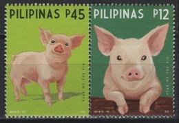 Philippines (2019) - Set -  /  Chinese New Year - Pig - Cochon - Cerdo - Chinese New Year