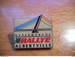 A017 -- Pin's Rallye Albertville - Markennamen