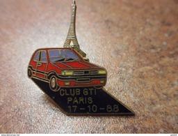 A029 -- Pin's Club GTI Paris 17.10.88 - Peugeot