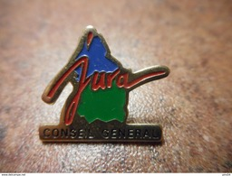 A030 -- Pin's Jura Conseil General - Steden