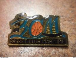 A031 -- Pin's Basket Club Maritime - Basketball