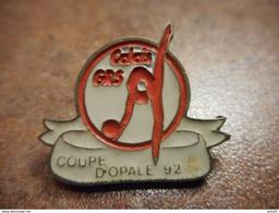 A031 -- Pin's Calais GRS Coupe D'Opale 92 -- Exclusif Sur Delcampe - Gimnasia