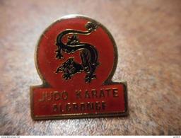 A031 -- Pin's Judo Karate Algrange - Judo