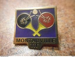 A031 -- Pin's Montauville TT - Tennis De Table