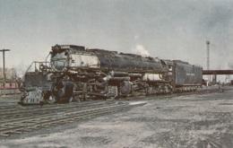 """Union Pacific 4004,4-8-8-4 """"Big Boy"""",in Laramie,Wyo., Ungelaufen - Trains"""