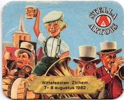 Sous-bock Stella Artois Wittefeesten Zichem 7-8 Augustus 1982 (août) - Bierviltjes