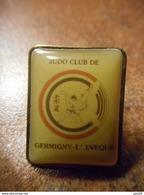 A032 -- Pin's Judo Club De Germigny L'Eveque -- Exclusif Sur Delcampe - Judo