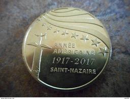 Médaille Armee Americaine Saint Nazaire 2017 -- Exclusif Sur Delcampe - 2014