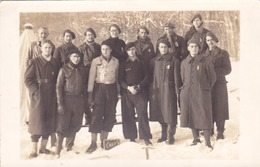 WW2 LOT CARTES PHOTOS Du MONT SAINT ROMAIN à BLANOT (71) -  Chantier De Jeunesse - Neige En Décembre 1940 à 579 Mètres - France