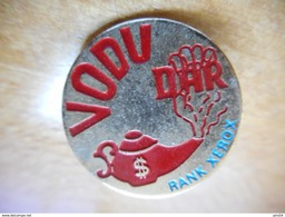 A003 -- Pin's Vodu Dar Rank Xerox - Informatique